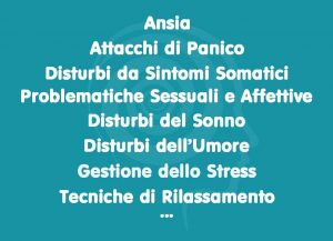 Interventi Psicoterapeutici - Psicologo a Firenze
